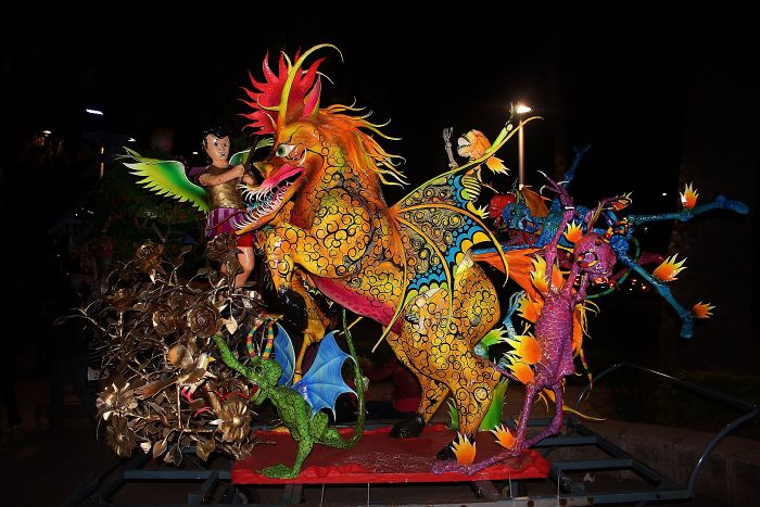 I Photographed Mexican Monsters Parade, The 'Alebrijes'