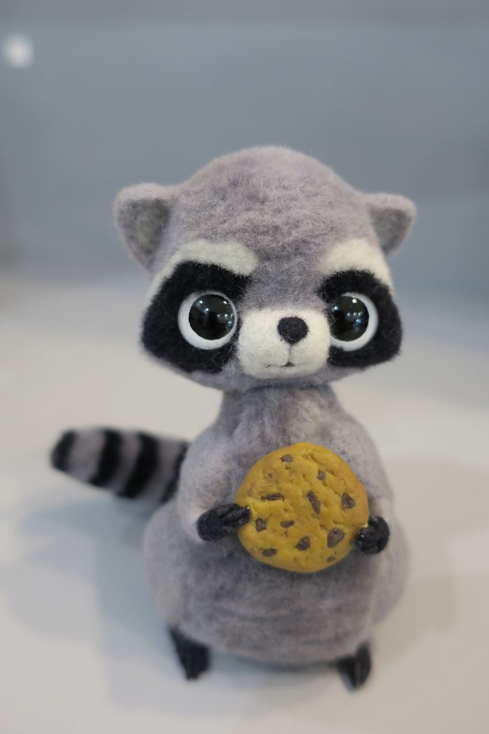 Сute Needle Felted Toys By Anna Klyukina