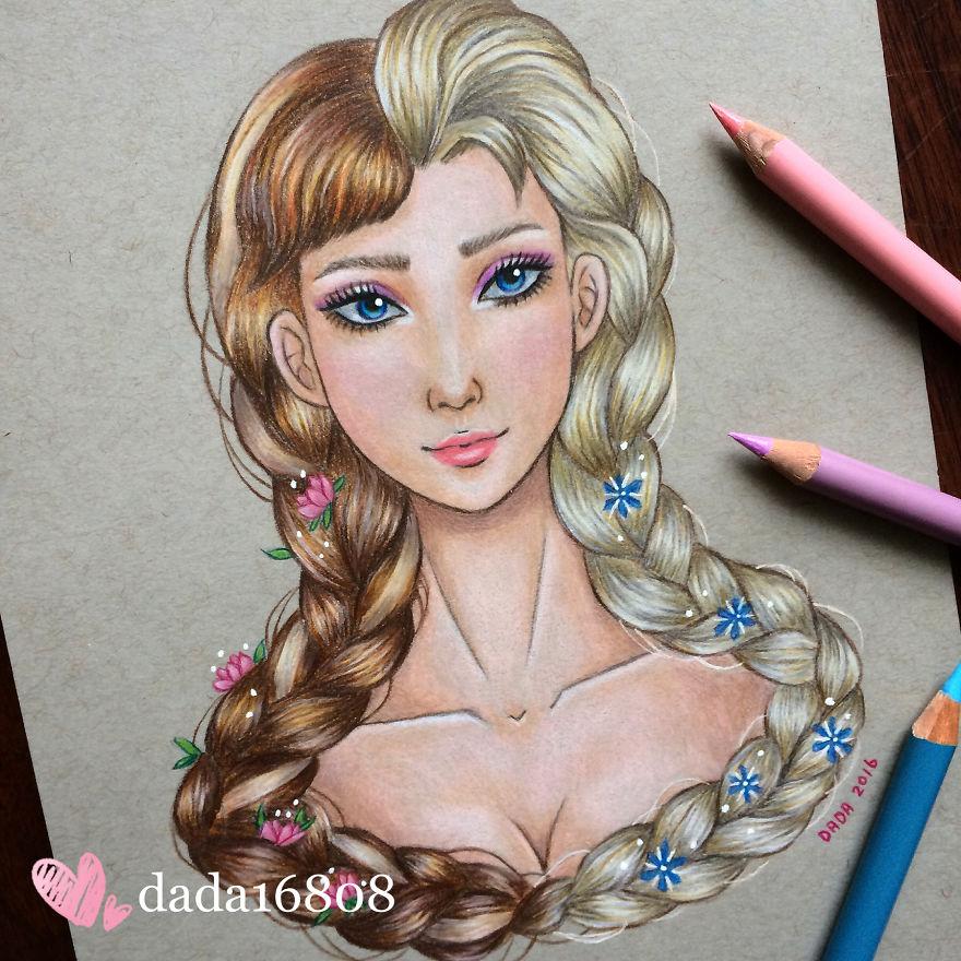 Anna vs Elsa