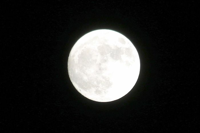 The Supermoon, Not As Big As I Thought It Would Be