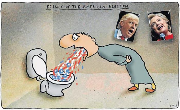 "The ""american Election"" (as Seen By The Rest Of The World)!"