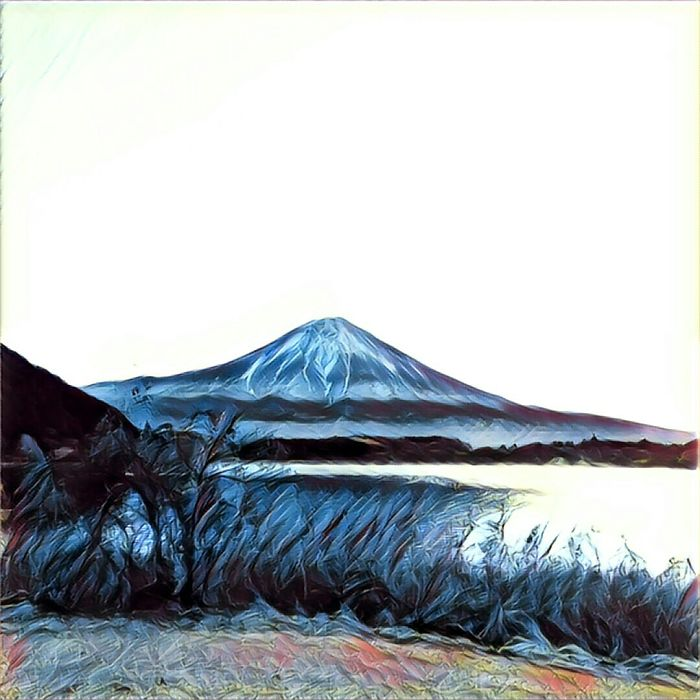 The Beauty Of Fuji Through Prisma.