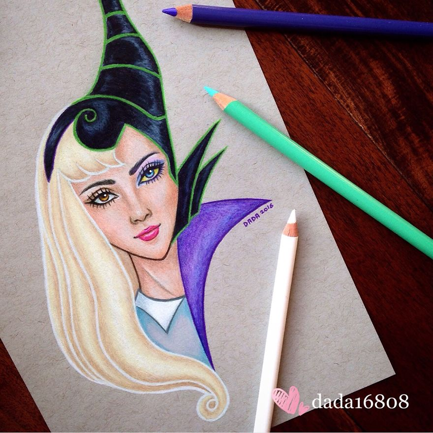Aurora Vs Maleficent