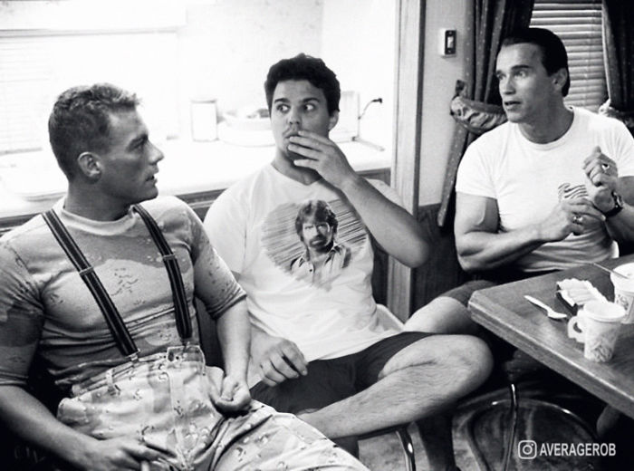 When I Thought I Was Meeting The Greatest Of All Time, I Met JCVD And Schwarzenegger