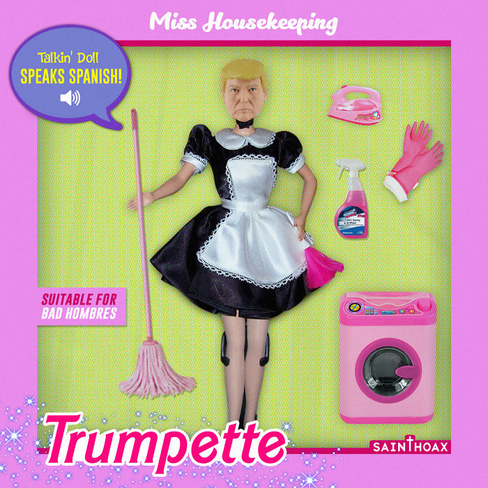 Trumpette: A Doll Inspired By Trump's Sexist Statements