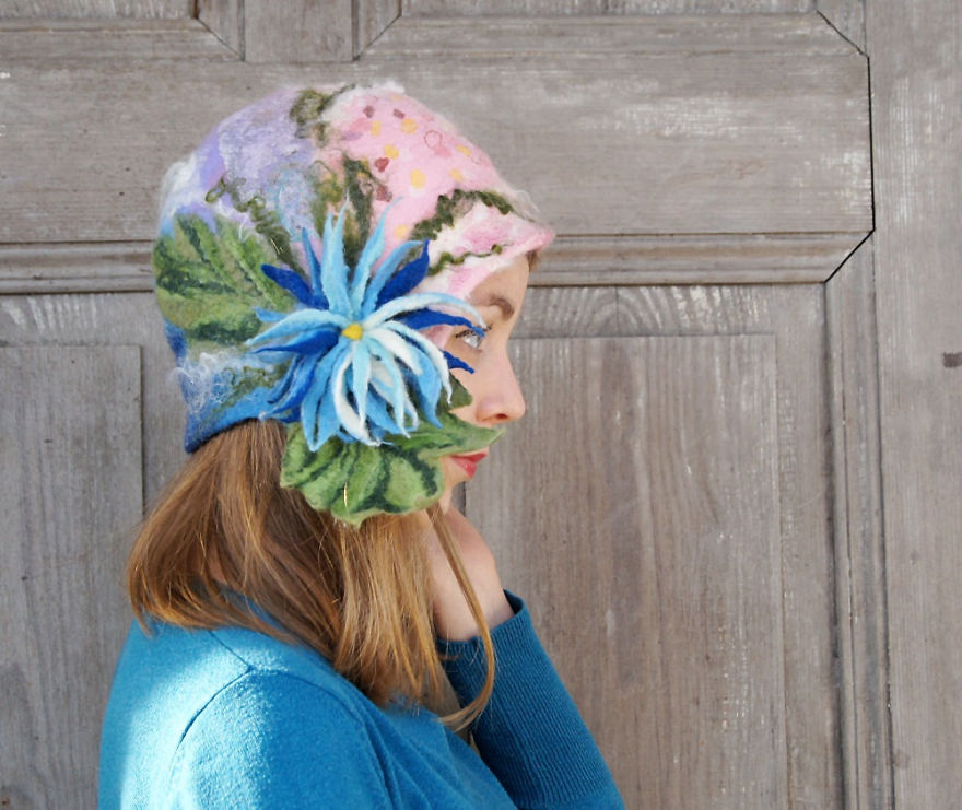 My Mother Is A Mad Hatter And Creates Amazing Wearable Pieces Of Art