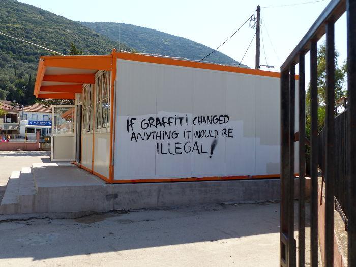 Graffiti In Greece.