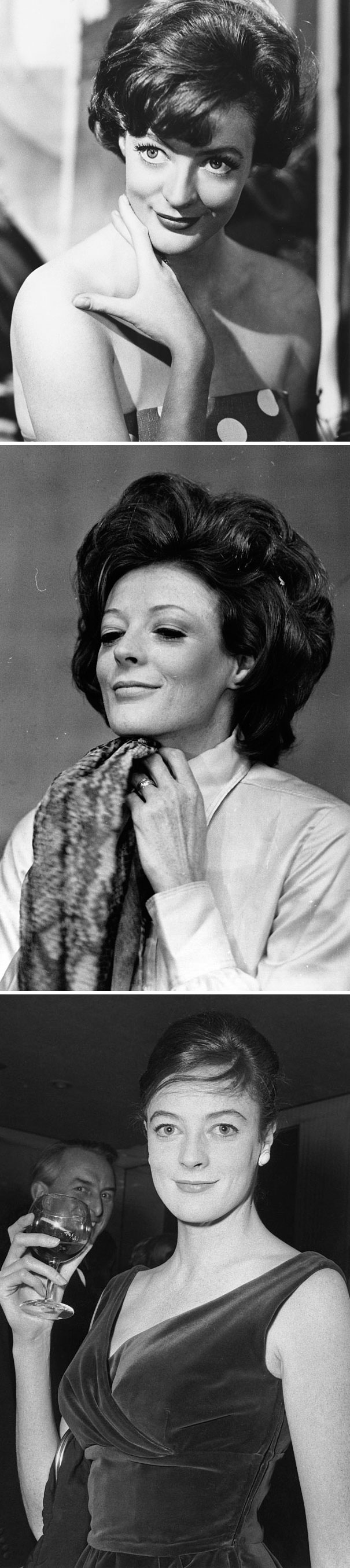 Young Maggie Smith In The 60's And 70's