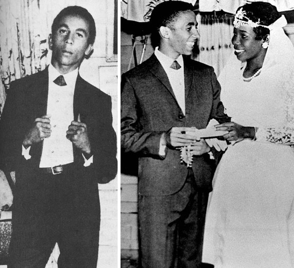 20-Year-Old Bob Marley At His Wedding Day, 1966