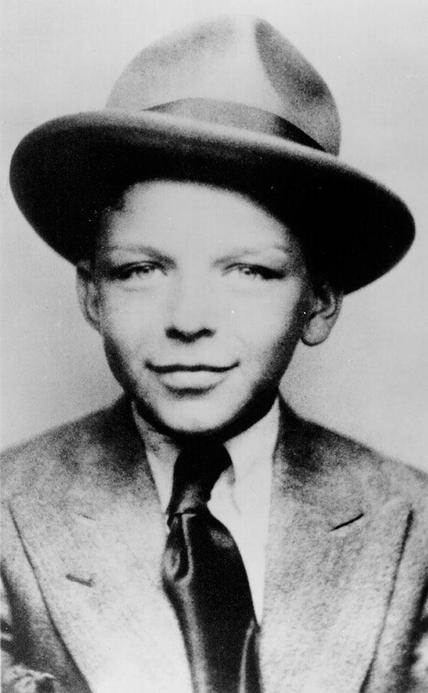 7-Year-Old Frank Sinatra, Circa 1922