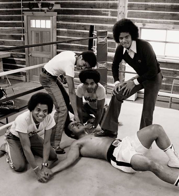 Muhammad Ali And The Jackson 5, 1977
