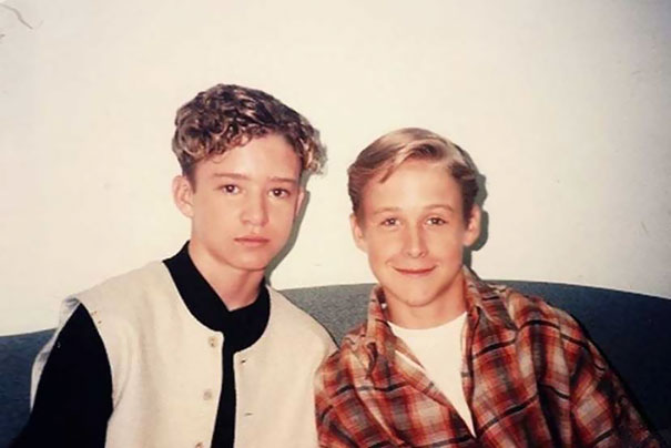 13-Year-Old Justin Timberlake And 14-Year-Old Ryan Gosling, 1994