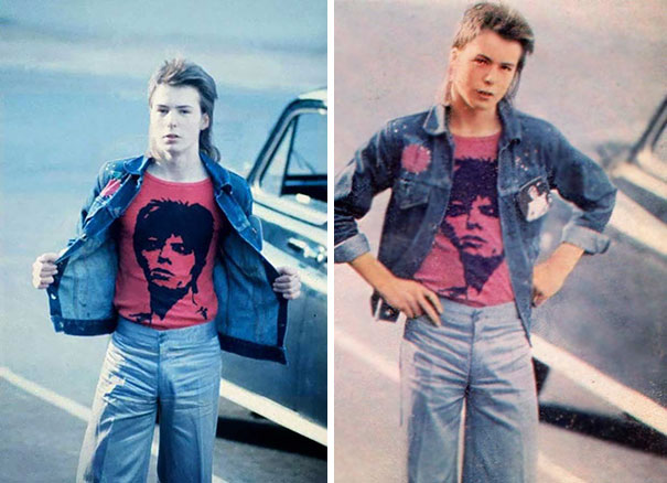 16-Year-Old Sid Vicious Going To A David Bowie Concert At Earls Court, 1973