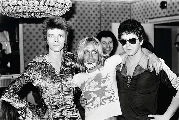 David Bovie, Iggy Pop And Lou Reed, 1972