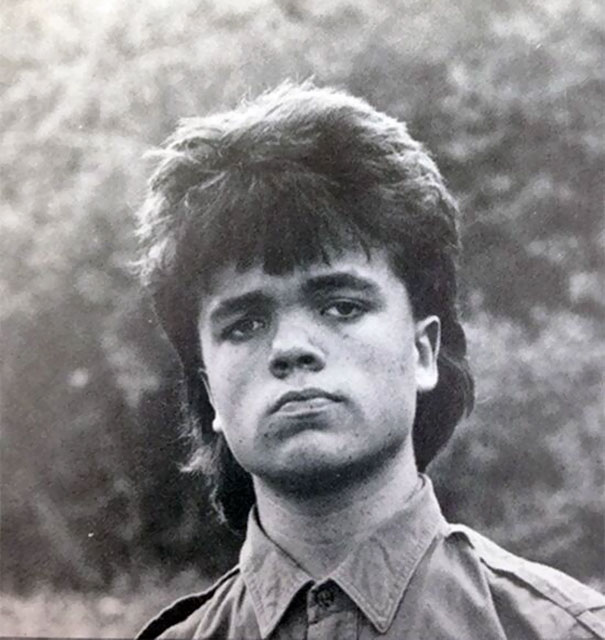 18-Year-Old Peter Dinklage In His Graduation Photo From Delbarton School In Morristown, 1987
