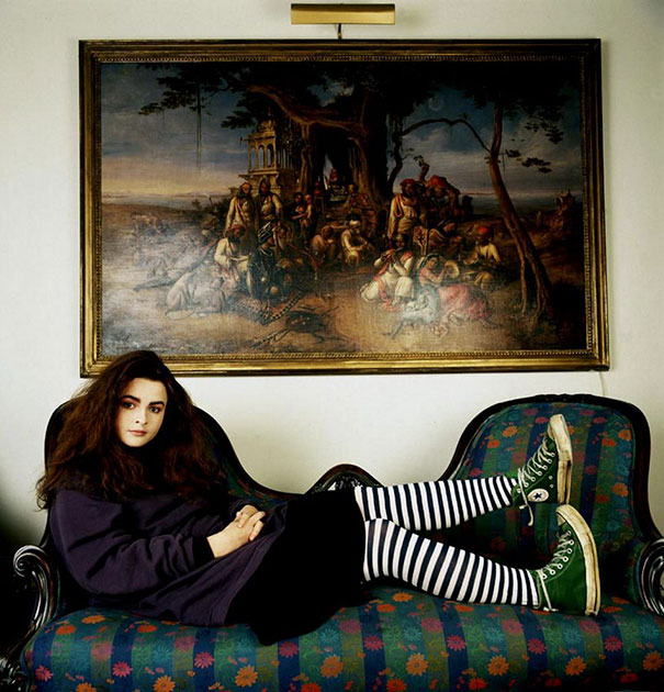 20-Year-Old Helena Bonham Carter, 1986