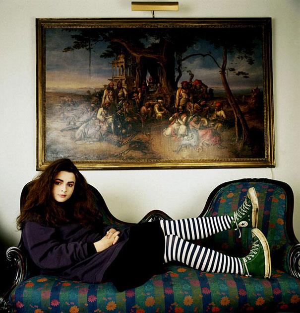 20-Year-Old Helena Bonham Carter, 1986