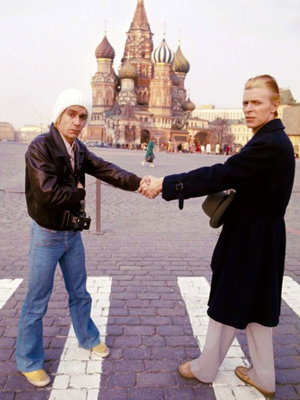 David Bowie And Iggy Pop In Moscow, 1976