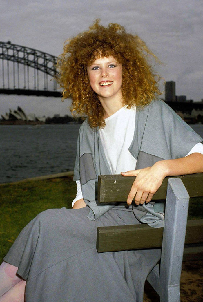 16-Year-Old Nicole Kidman At A Private Photo Session Following The Release Of Her Movie
