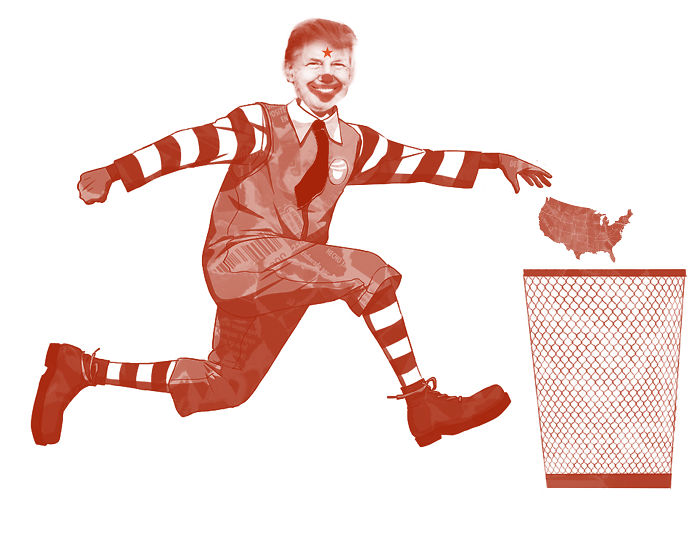 Rowland Mcdonald Dumping Usa