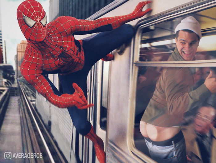 When Spidey Passes By, I'm Childish