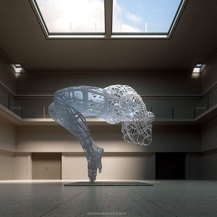 The Big Sculpture In A Nonexistent Museum