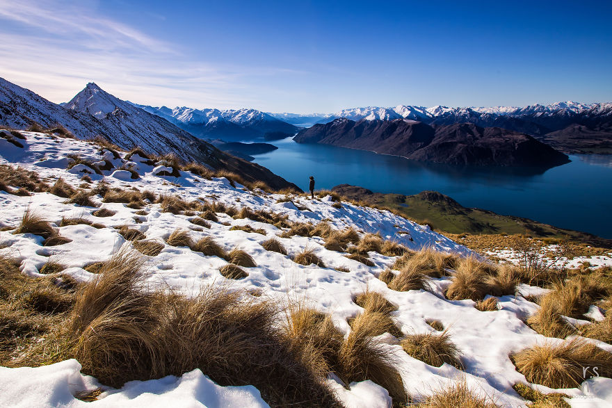 After The Clouds Half Way Up Roys Peak, Wanaka