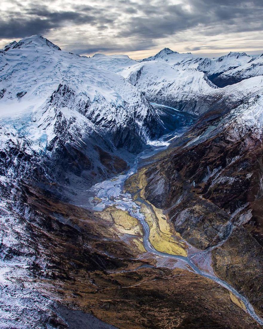 Exploring Southern Alp Glaciers