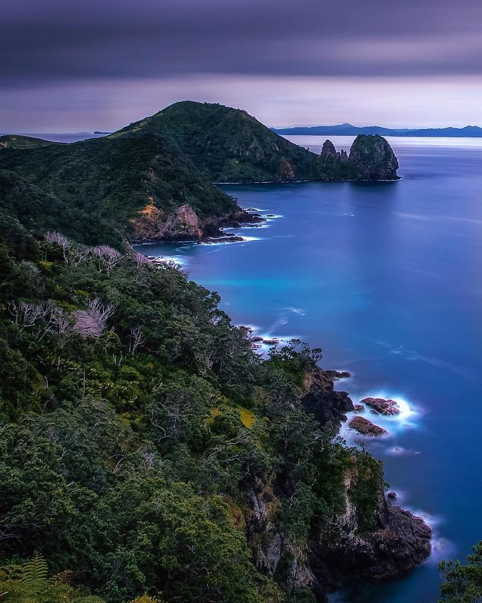 This Is The Coromandel Coast As Viewed From The Coastal Walk That Runs From Stony To Fletcher Bay