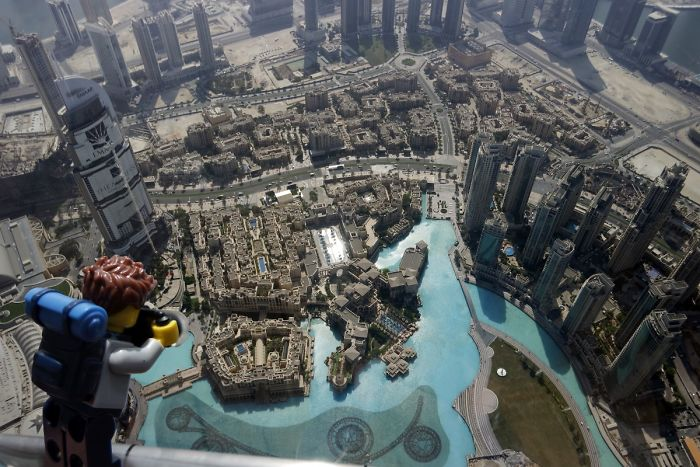 I Show The Beauty Of Dubai Through The Eyes Of A Lego Backpacker