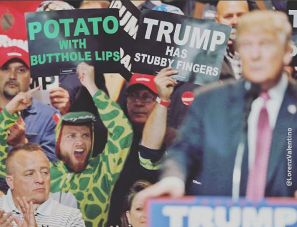 Potato With Butthole Lips