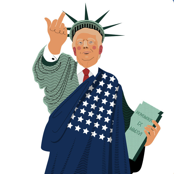Trump Of Liberty