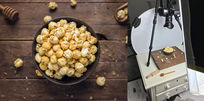 9 Hugely Simple Setups For Delicious Food Photos
