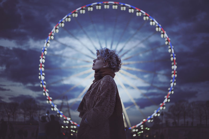 The Woman And The Wheel