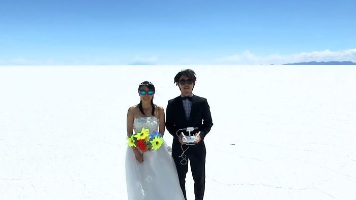 400 Days & 48 Countries – Couple On Honeymoon Captures Memories With A Drone