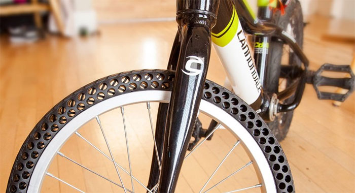 New Airless Bike Tires That Will Never Get Flat