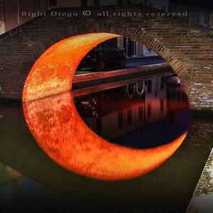 Reflection Creates A Moon