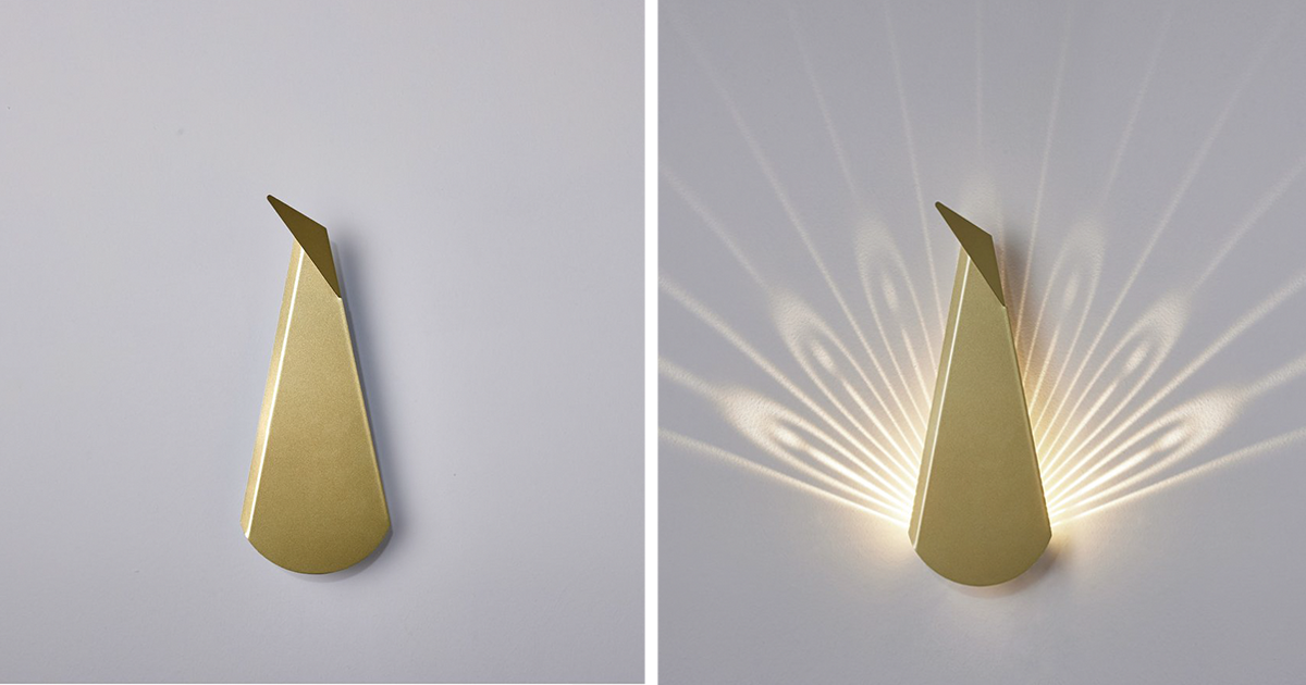 estas ingeniosas lmparas de pared se convierten en animales al encenderlas