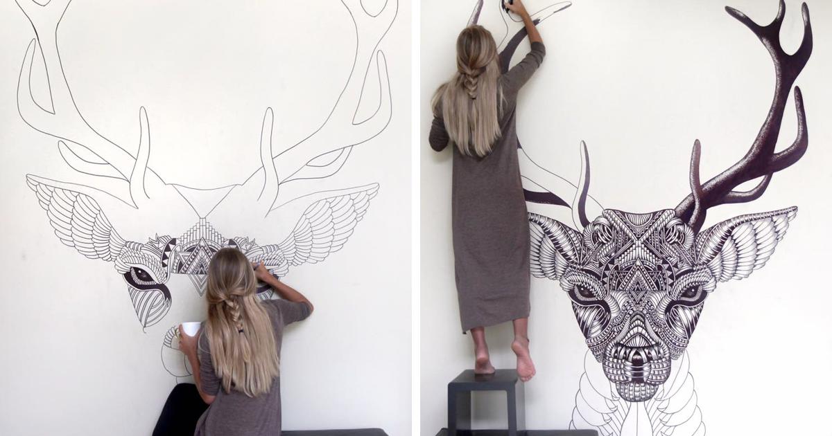 This Artist Brings Blank Walls To Life Bored Panda