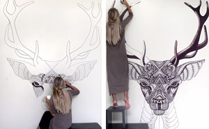 This Artist Brings Blank Walls To Life