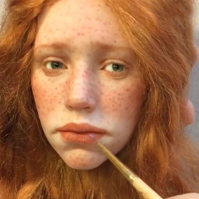 Russian Artist Creates Stunningly Realistic Dolls Bored Panda - Artist creates stunning hyper realistic paintings of women