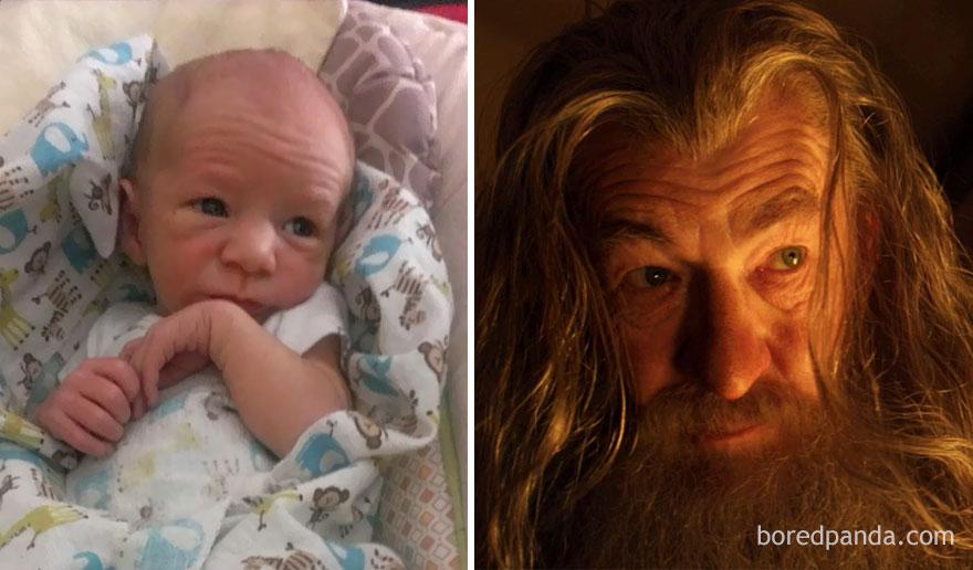 So My Friends Baby Looks Like Gandalf
