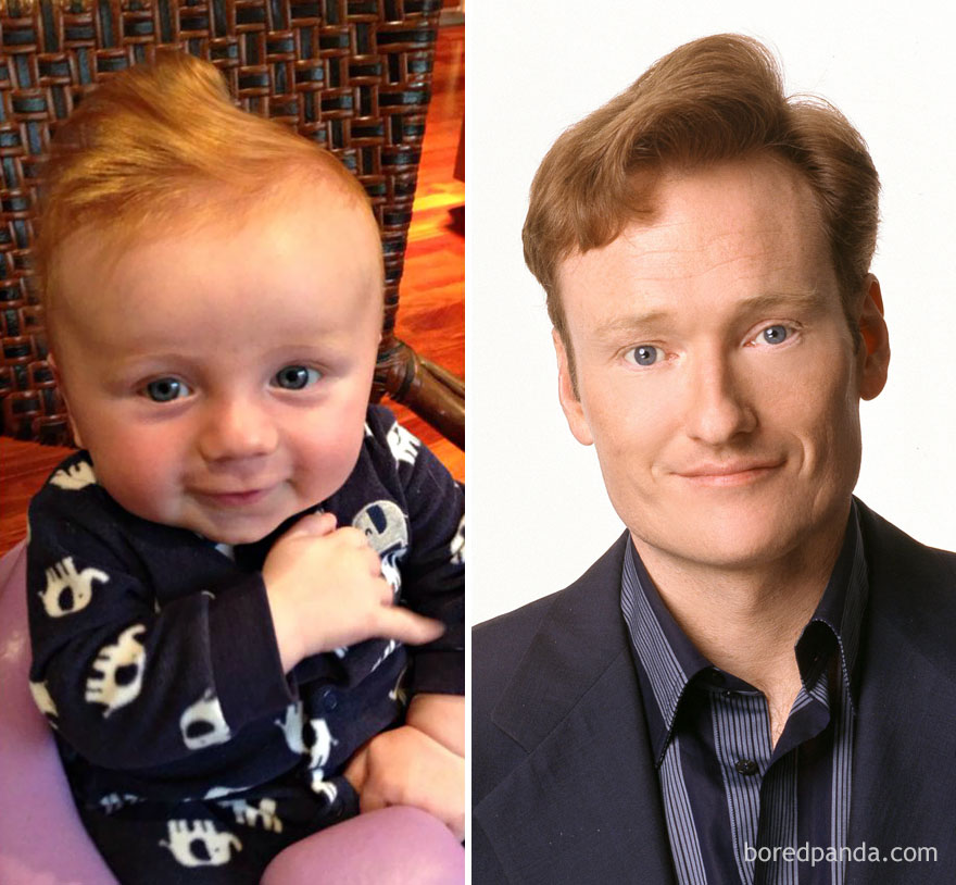 This Baby Looks Like Conan O'Brien