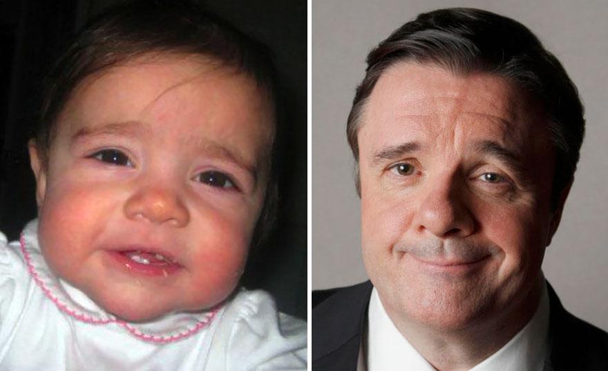 Baby Looks Like Nathan Lane