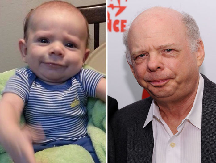 Friend's Baby Looks Like Wallace Shawn