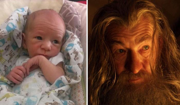 So My Friend's Baby Looks Like Gandalf