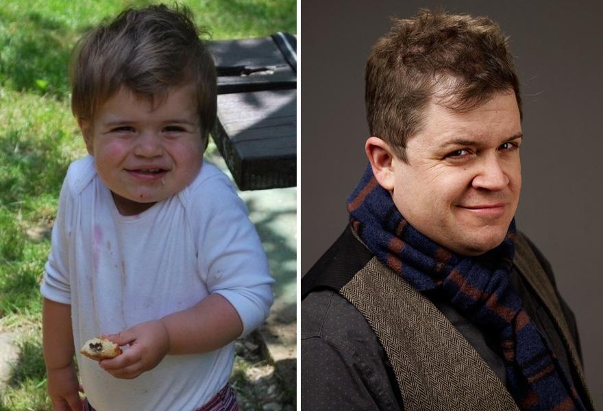 Bebé que se ve igual que Patton Oswalt