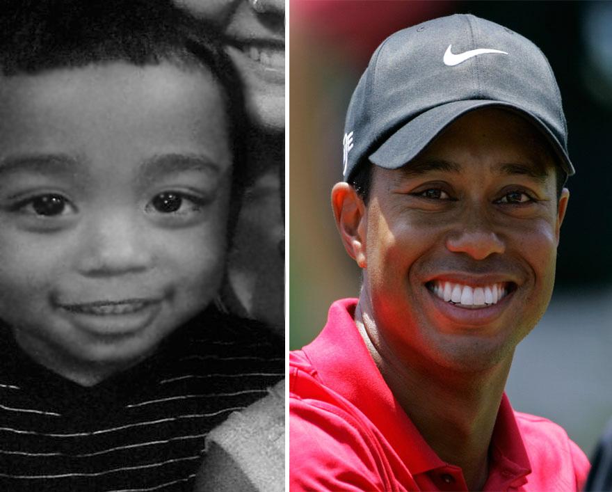 Little Tiger Woods