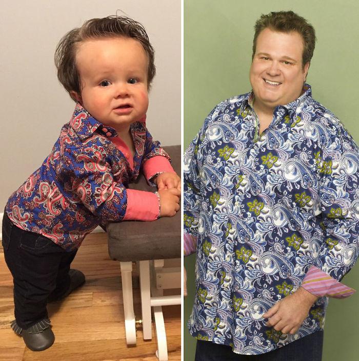 Charlie Looks Like Cam From Modern Family