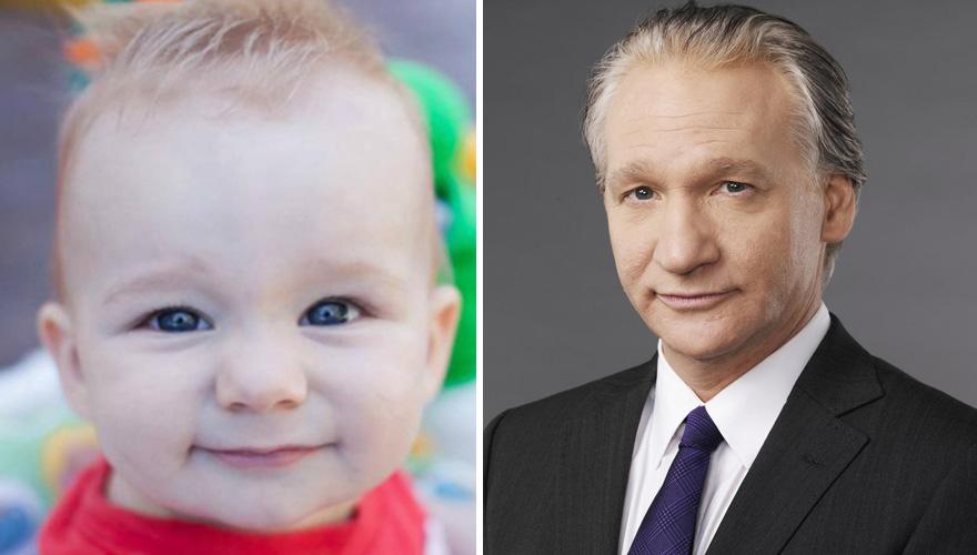 Baby Looks Like Comedian Bill Maher